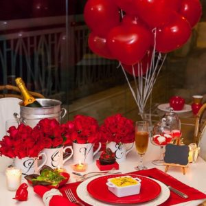 Romantic Dinner & Roof-Top Candle Light Dinner | Anniversary surprise Birthday proposal