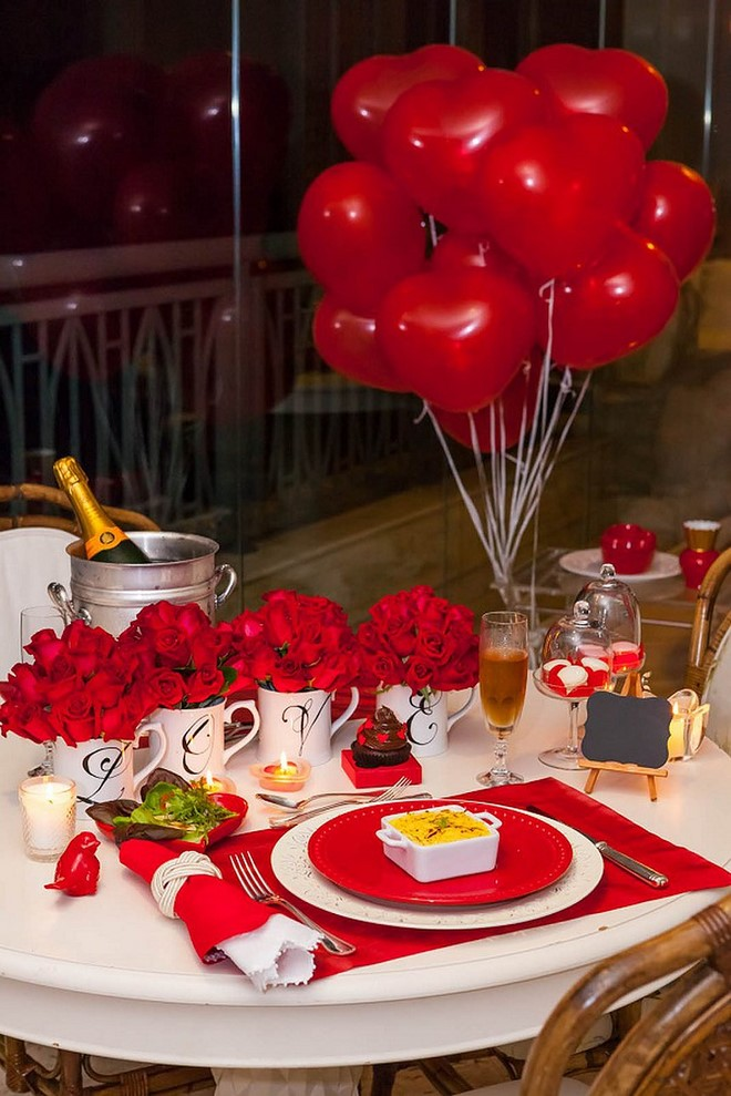 Valentine S Day Dinner Decoration Ideas